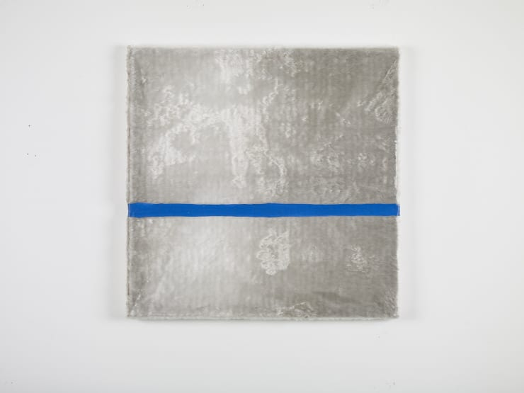 Eric Bainbridge, Blue and White 1, 1989