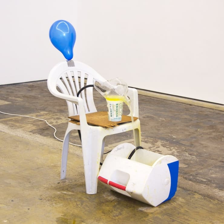 Joel Kyack Let's Sit On The Porch It's Nice Out, 2011 Mixed Media 106 x 56 x 94 cm 41 3/4 x 22 1/8 x 37 1/8 in