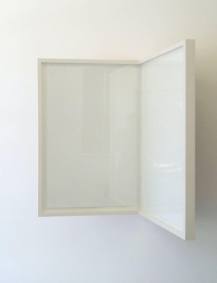 Richard Rigg Sheet of Paper / Folded / Framed, 2008