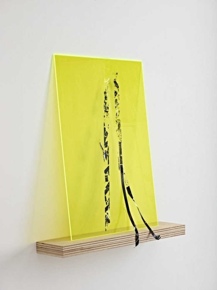 Jennifer Douglas, Misery # 1 (Acid Green), 2012