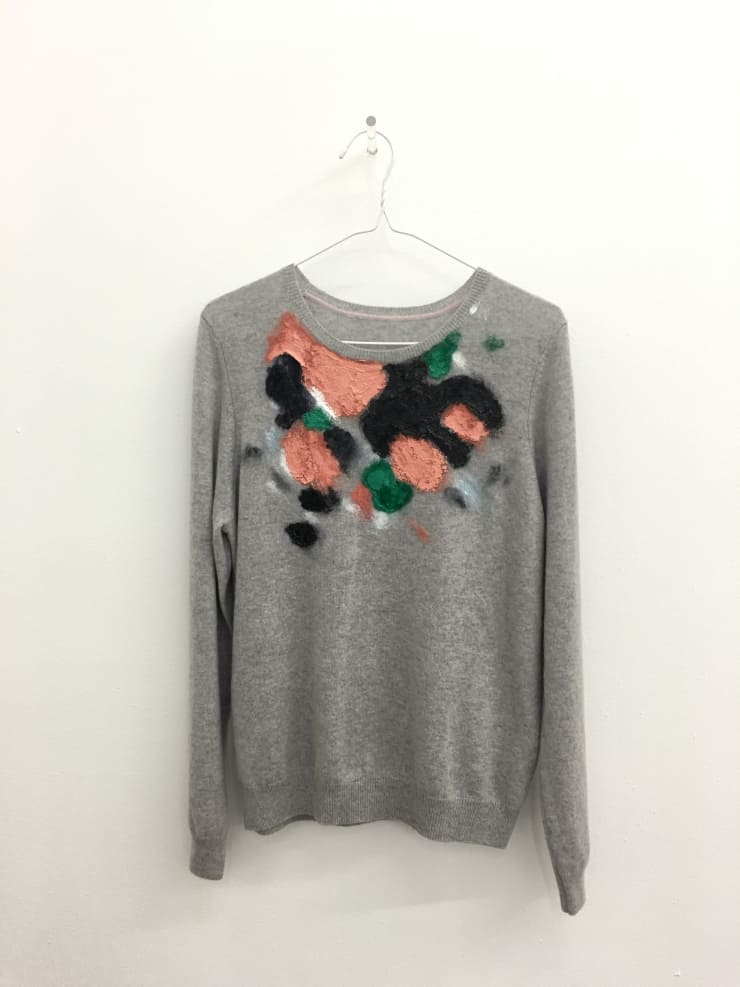 Susie Green, Painting Jumper (grey), 2016