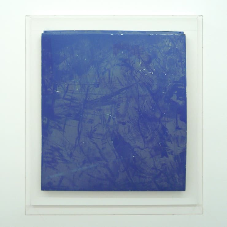 Paul Merrick, Untitled (Blue), 2010