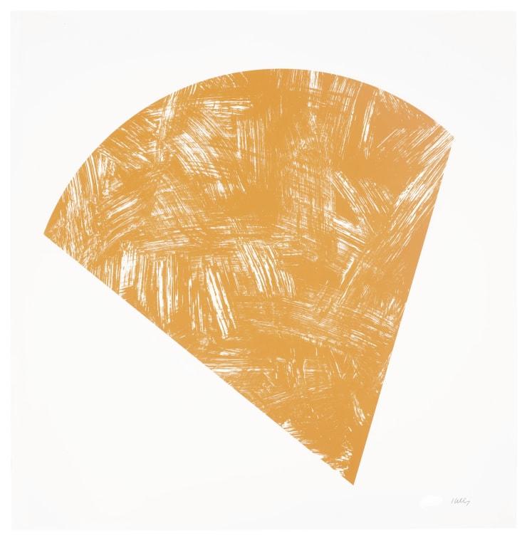 Ellsworth Kelly, Untitled (Orange State I), 1988