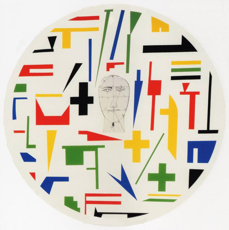 Mimmo Paladino, Shield 3, 1999
