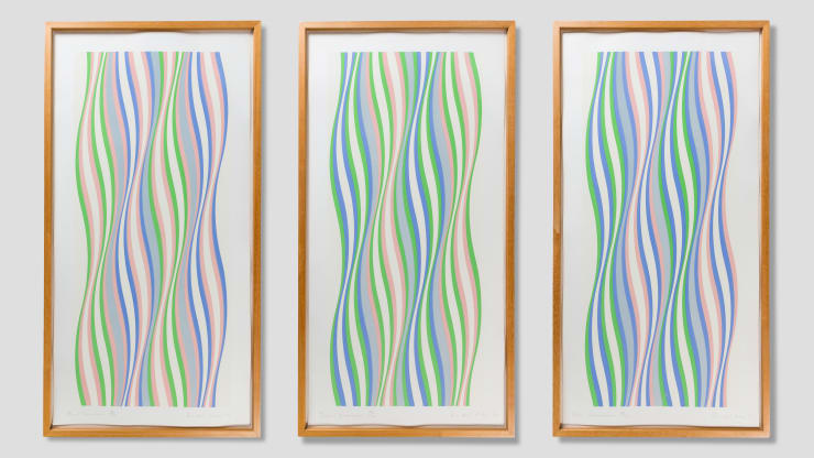 Bridget Riley, Dominance Portfolio, 1977