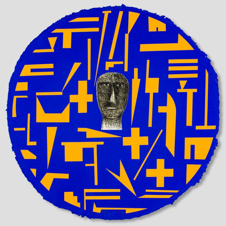 Mimmo Paladino, Shield 1, 1999