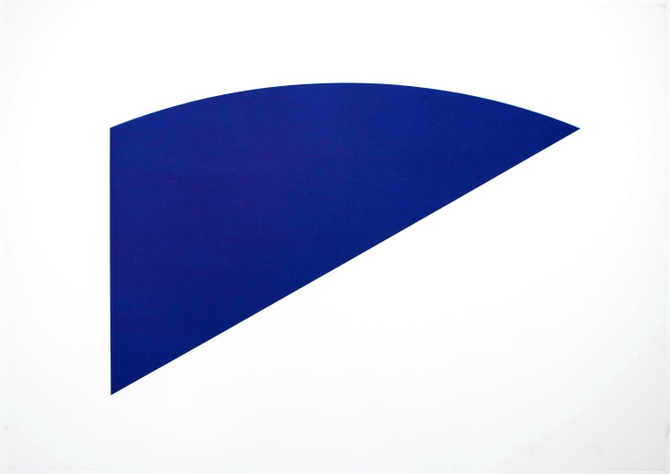 Ellsworth Kelly, Untitled (Eight by Eight to Celebrate the Temporary Contemporary), 1983