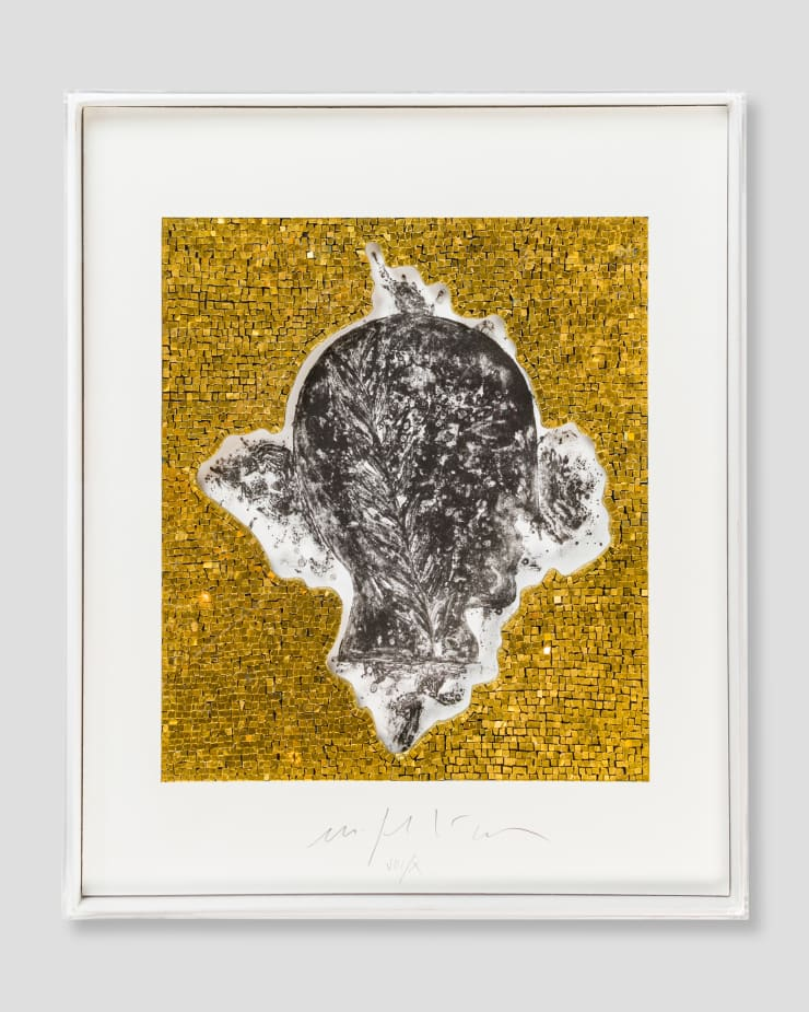 Mimmo Paladino, Senza Titolo Mosaico, 2010