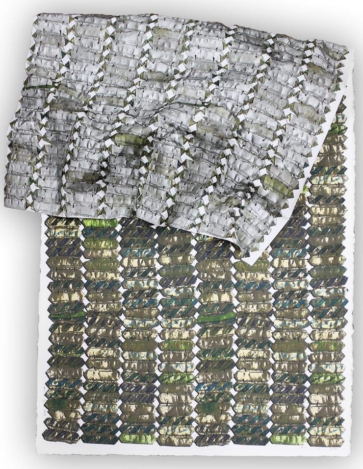 El Anatsui, Green Variation , 2015