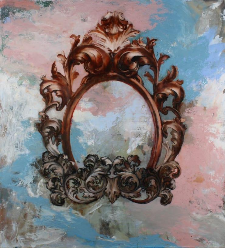 Tim Wright Far-seeing Eye, 2018 Oil on canvas 110 x 100 cm 43.3 x 39.4 in