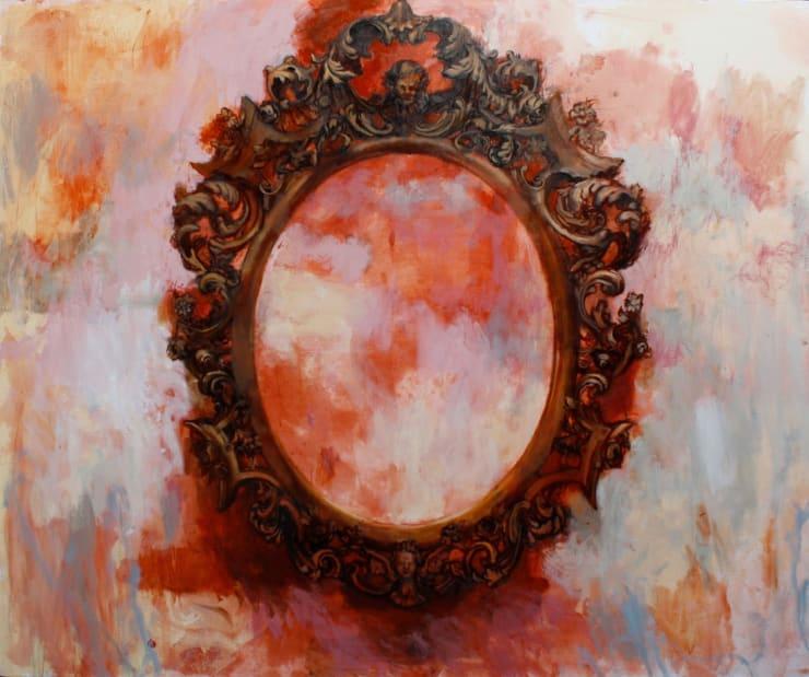 Tim Wright Dark Sun, 2018 Oil on canvas 150 x 180 cm 59.2 x 70.9 in