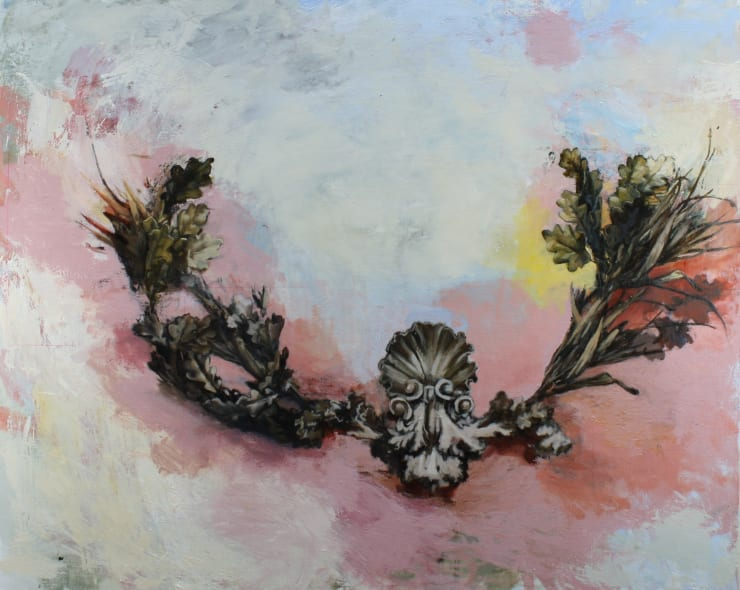 Tim Wright Heimdallr, 2019 Oil on canvas 120 x 150 cm 47.2 x 59 in
