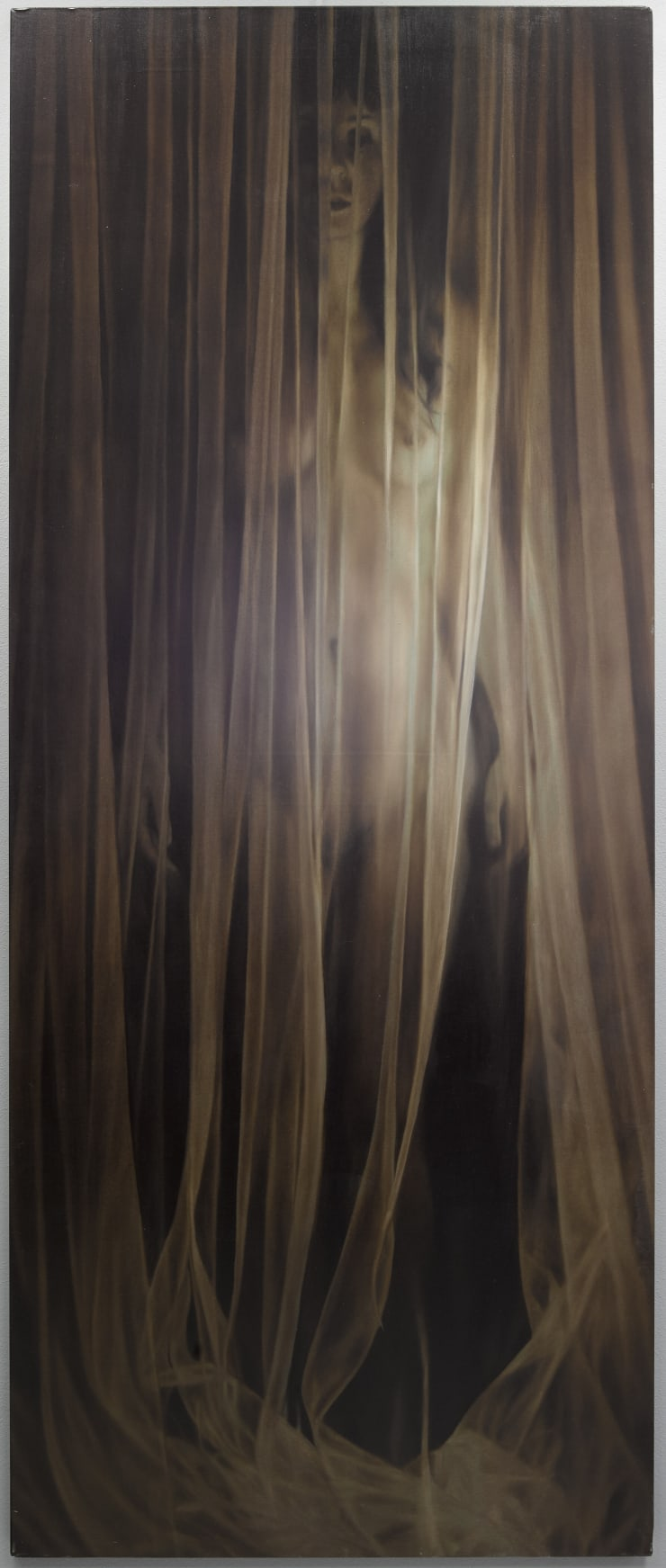Elisa Rossi Sipario 2, 2017 Oil on canvas 200 x 80 cm 78.7 x 31.5 in