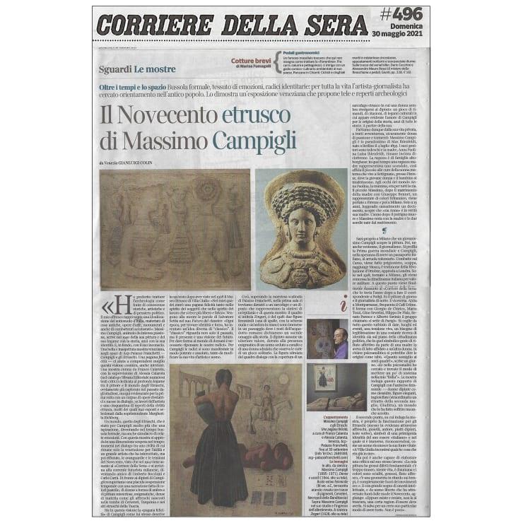 Il Novecento etrusco di Massimo Campigli