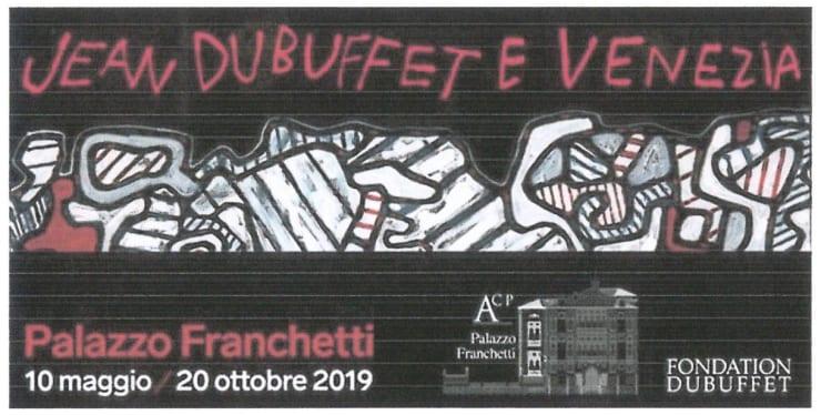 Jean Dubufffet e Venezia