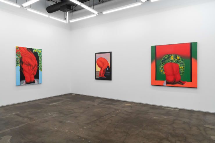 """Installation view """"How Far Between and Back"""""""