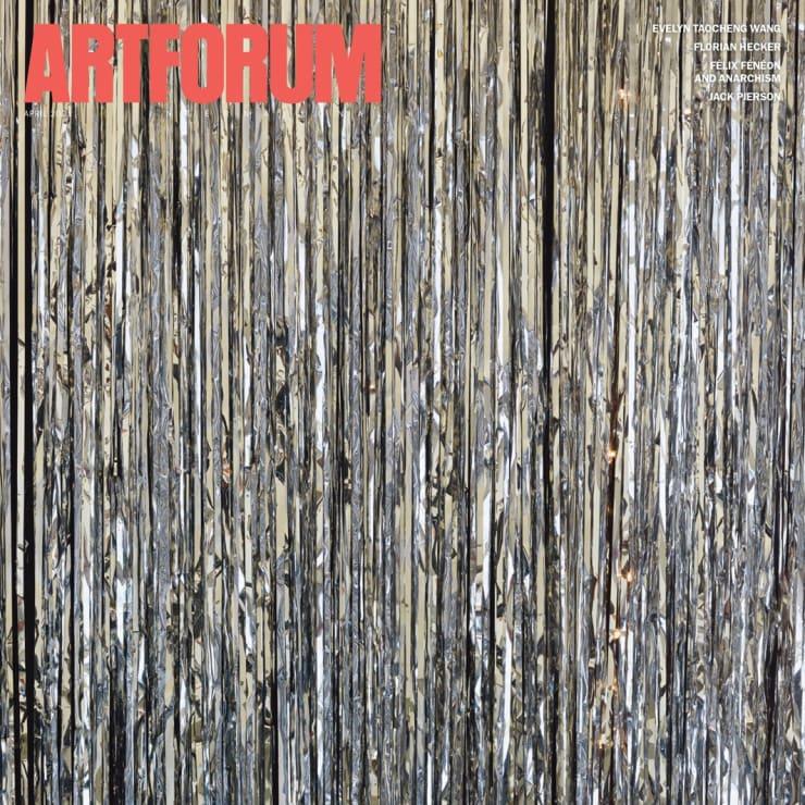 ARTFORUM April issue
