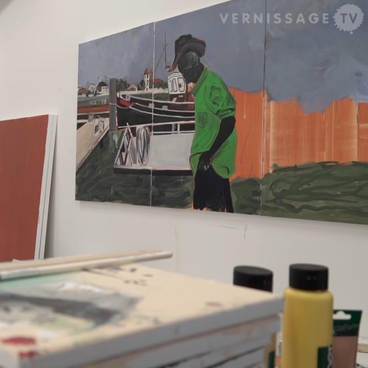 Arjan Martins: O Estrangeiro / Brasilea Foundation, Basel