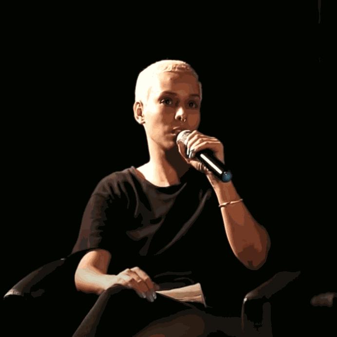 """Aleta Valente no """"Debate Construção e Desconstrução do Feminino no Cinema Brasileiro Contemporâneo"""""""