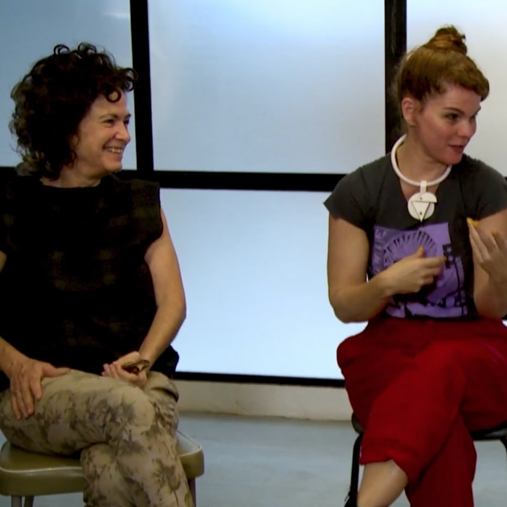 Imannam – Entrevista com Ana Linnemann, Anna Maria Maiolino e Laura Lima