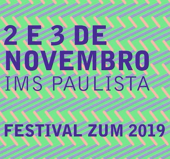 """Festival ZUM 2019 - """"Tão longe, tão perto"""" com Rosângela Rennó, Aleta Valente e Vincent Catala."""