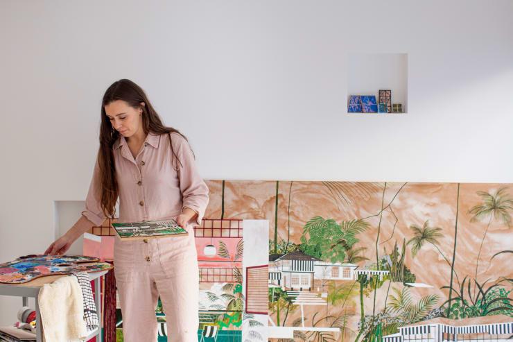 Lula Meets Artist Charlotte Keates