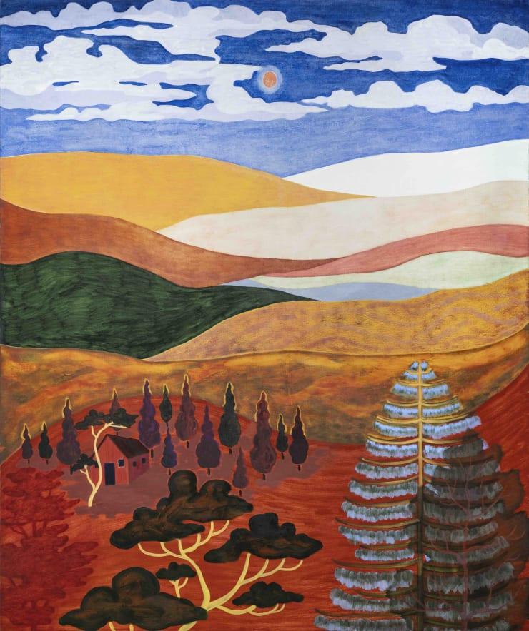 Hills Overflowing: Freya Douglas-Morris at Arusha Gallery Edinburgh