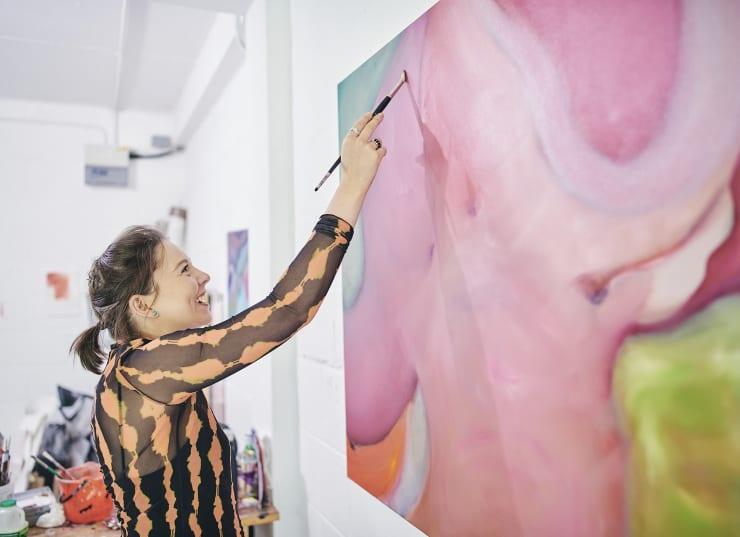 Rhiannon Rebecca Salisbury: Artist Showcase with the Edinburgh Art Festival