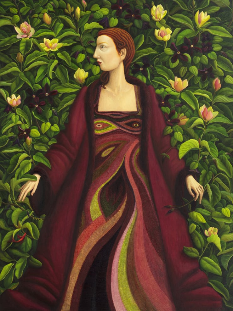 Helen Flockhart, Hir Rob Ryall, 2018, oil on linen, 120 x 80 cm