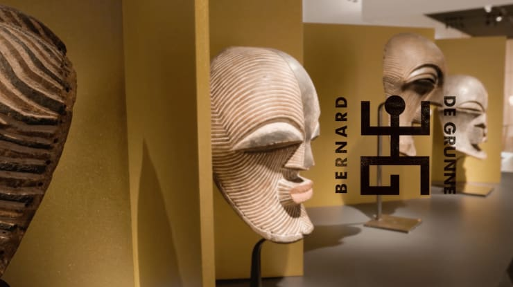 SONGYE Kifwebe masks at TEFAF Maastricht 2020