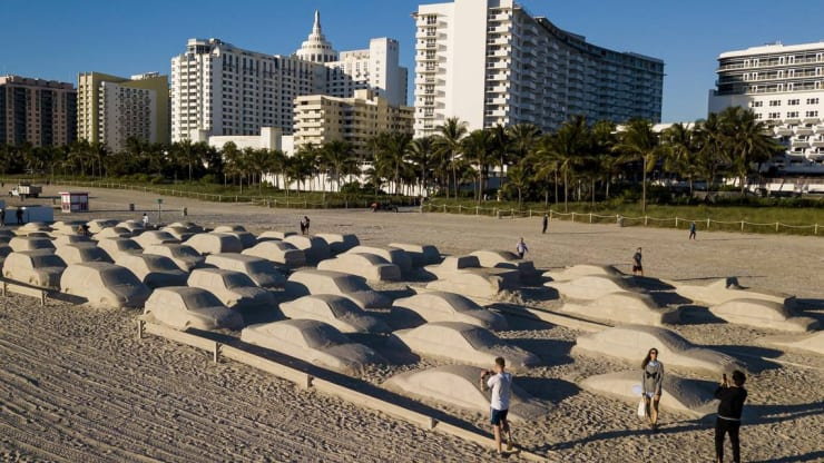 'AIl the galleries save their best for Miami.' Miami Art Week is bigger than ever.