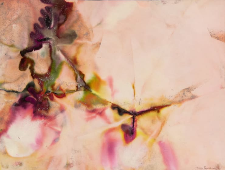 """""""The Silence Perpetuates,"""" the inaugural show at Mark Borghi's Sag Harbor gallery, recognizes the village's history as an African-American enclave by showing the work of artists such as Sam Gilliam, as seen above."""