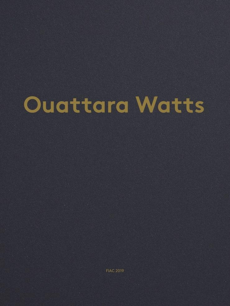 Ouattara Watts - FIAC 2019
