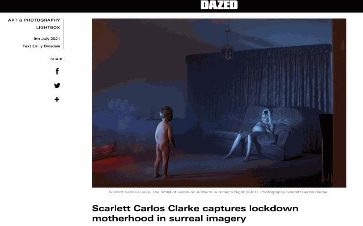 Scarlett Carlos Clarke, The Smell of Calpol on A Warm Summer's Night (2021)Photography Scarlett Carlos Clarke