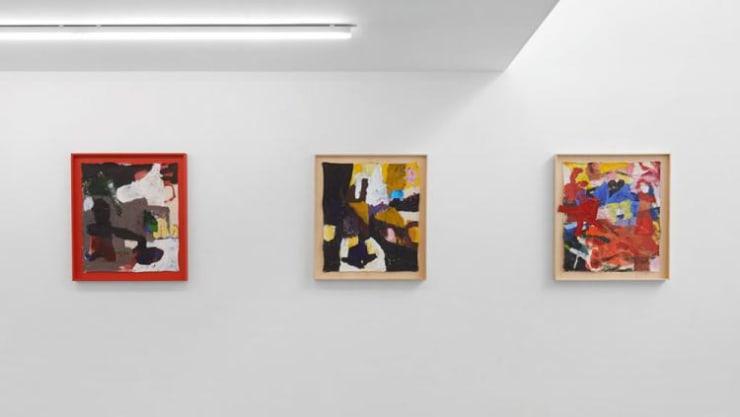 Hilda Kortei: Waitless Beyond Blue, installation view, courtesy of Cob Gallery.