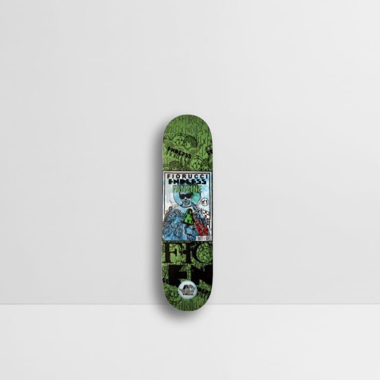 Endless, Fiorucci - Fiorucci Fanzine Skateboard, 2019