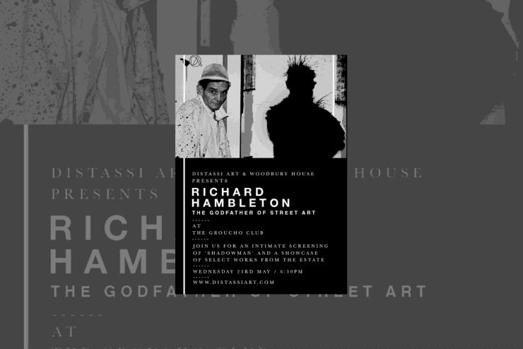 D'Stassi Art present 'Richard Hambleton'