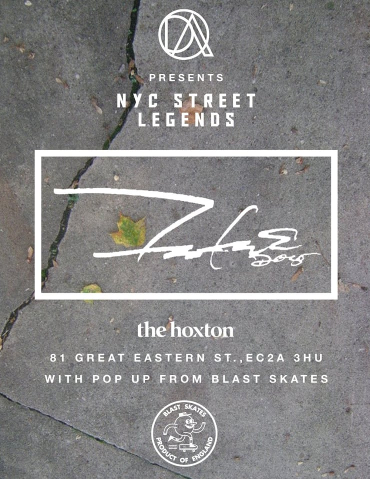 Distassi Art present 'NY Street Legends' at The Hoxton Hotel