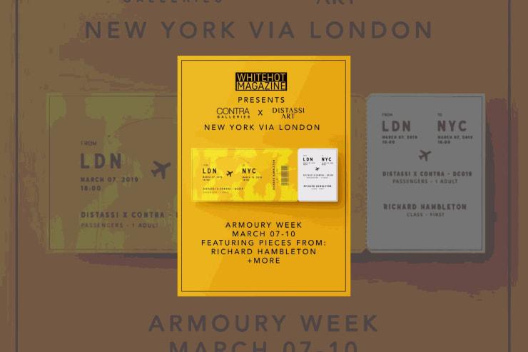 D'Stassi Art present 'NY via LDN'