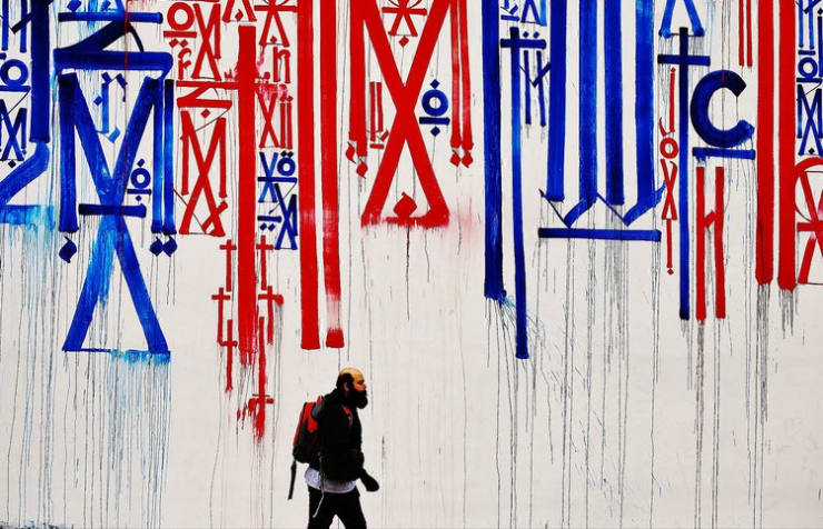 Retna - Art In The Streets, Marquis Lewis, more popularly known as Retna, is an American born street and studio...