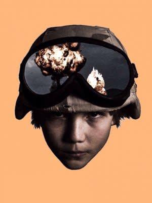 Schoony - 'Boy Soldier', Hertfordshire-based artist Tristan Schoonraad aka Schoony is a multifaceted urban artist, his work consists of both...