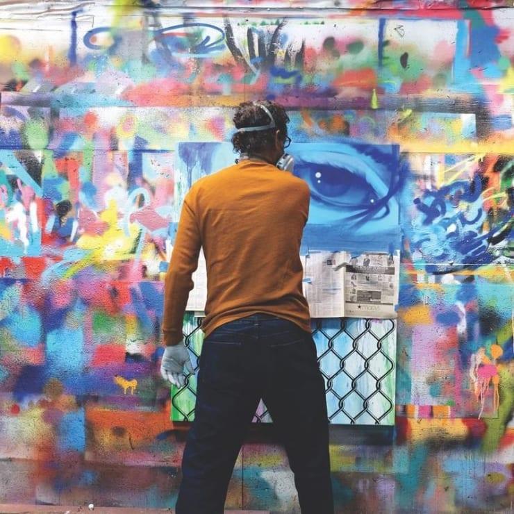 DAZE - 'A pioneer of the New York graffiti scene', Daze, born Chris Ellis, was a pioneer of the New...