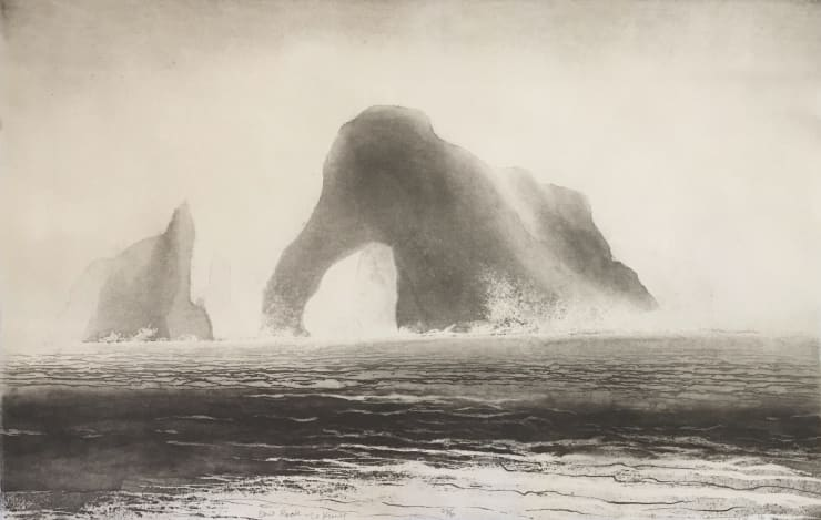 Norman Ackroyd Cow Rock - Co. Kerry, 2016