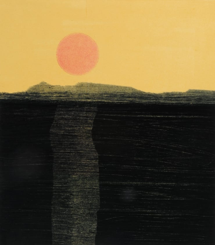 Nigel Swift Orange Moon, 2019