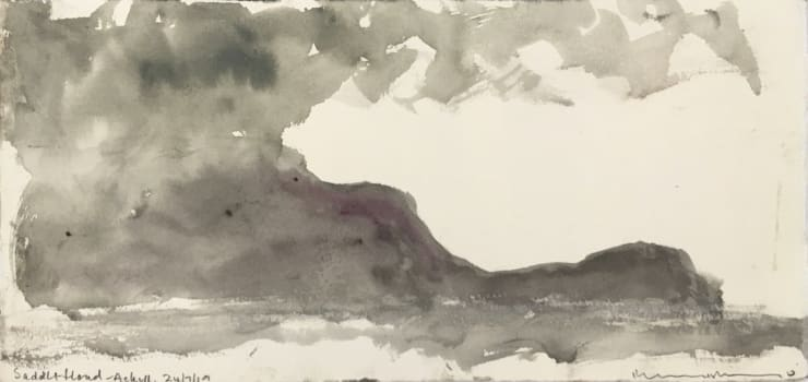 Norman Ackroyd Saddle Head - Achill (II), 2019