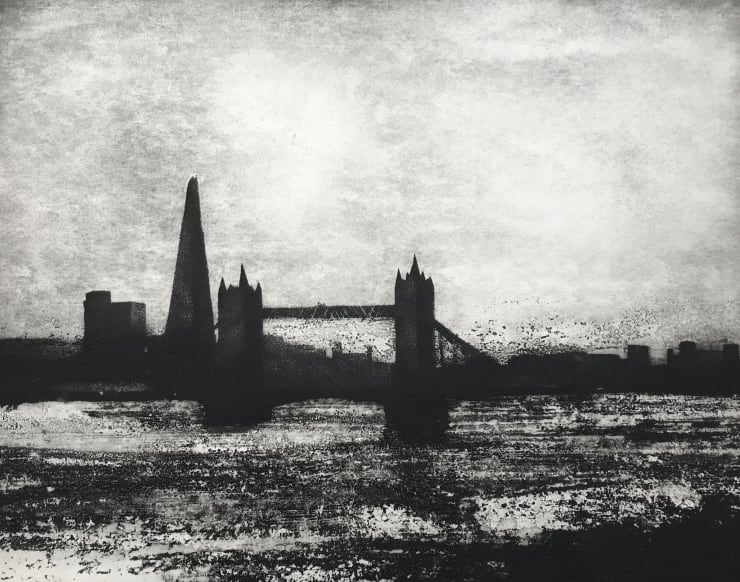 Jason Hicklin The Thames. Pool of London, 2019