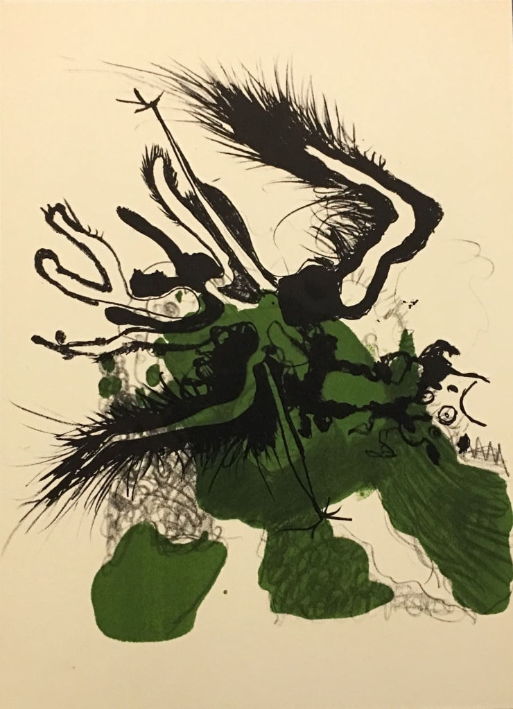 Paul Rebeyrolle From 'Derrière le Miroir - Rebeyrolle' , 1969