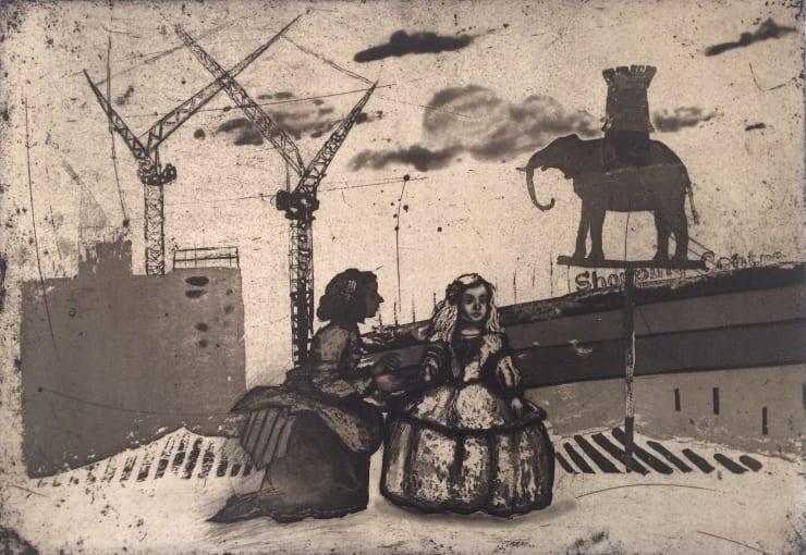 Mychael Barratt Urban Myths VI - Infanta de Castilla at Elephant and Castle