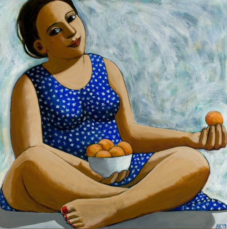 Anita Klein A Bowl of Apricots, 2019