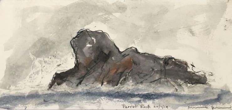 Norman Ackroyd Parrot Rock, 2019